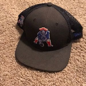 New England patriots trucker hat original fit